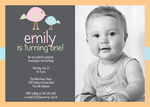 Girl Birthday Invitations - Miss Adorable
