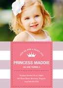 Party Princess -  Girl Party Invitations
