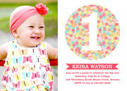 Candy Cool Pink - Girl Birthday Invitations