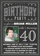 Birthday Letters -  Adult Birthday Party Invitations