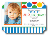 Birthday Invitations for Boys - Primary Party
