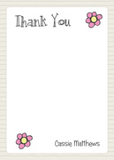 Birthday Notes -  Thank You Notes
