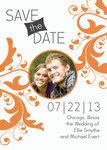Dutch Bloom Date - Save the Date Photo Cards