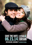 Perfect Print Date - Save the Date Photo Cards