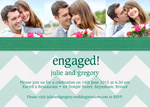 Stitch Engaged - Engagement Party Invitations