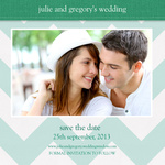 Stitch Save The Date - Save the Date Cards