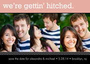 Save the Date Photo Cards - Gettin' Hitched