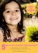 Sunshine Sweetie -  Girl Party Invitations