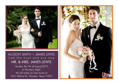 Wedding Announcements, Love Equals Design