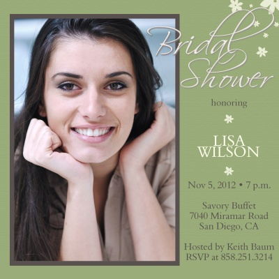 Bridal Shower Invitations, Beautiful Bride Design