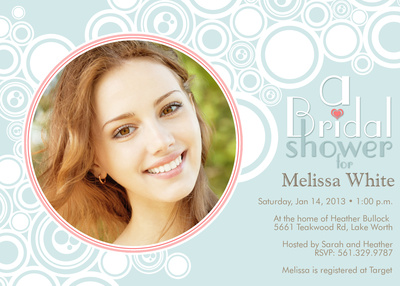 Bridal Shower Invitations, Bubbly Bride Design