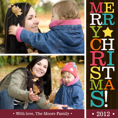 Personalized Holiday Cards, Christmas Letters Design