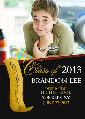 Graduation, Banner Day Design