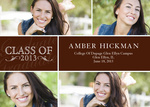Chestnut Grad Announcement