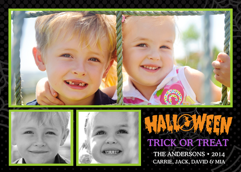 Halloween Cards, Halloween Treats Design
