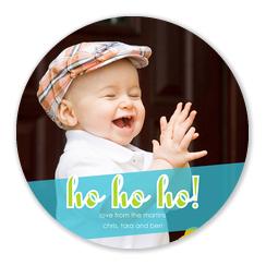 Holiday Ho! - Baby Christmas Cards