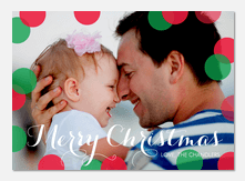 Baby Holiday Cards - Float Away Christmas