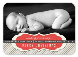 Baby Christmas Cards - Shiny & New