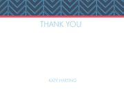 Birthday Thank You Cards - Feather Fest