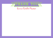 Color Up -  Birthday Thank You Notes
