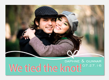 Heart String Day - Wedding Announcements