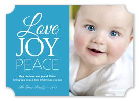 Baby Christmas Cards - Season of Joy