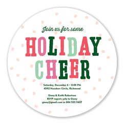 Christmas Party Invitations - Snowball Party