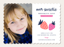 Birthday Party Invitations - Sweet Berries