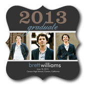 Graduation Announcement Cards - Silverstone Grad