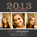 Graduation Invitation Cards - Gemstone Celebration