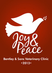 Peace Dove Red