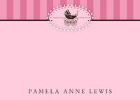 Pink Pram Stripe