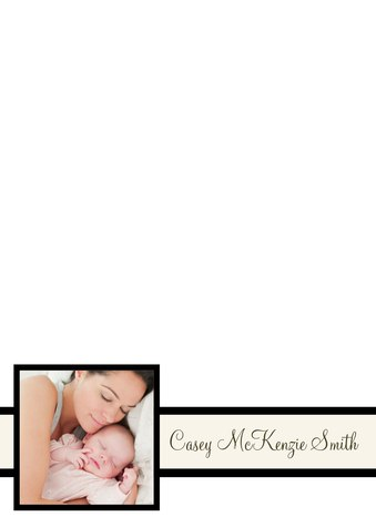 Baby Thank You Cards, Simply Stunning Design