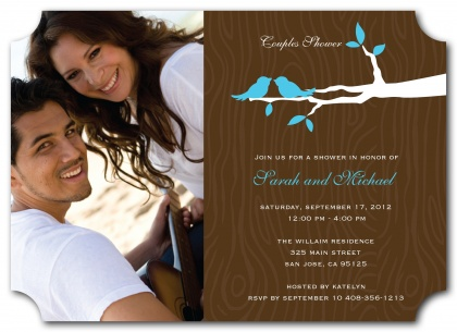Bridal Shower Invitations, Bridal Branch Design