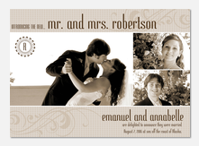 Victory Wedding Announcements -  Marriage Announcements