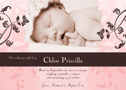 Autumn -  Birth Announcements for Girls