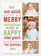 Christmas cards - Country Rustic