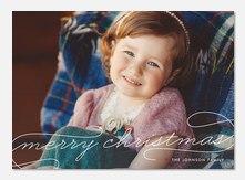 Christmas cards - Elegant Christmas Script
