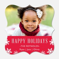 Christmas cards - Holiday Snowflakes