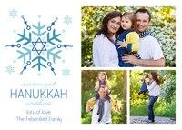 Hanukkah Snowflake