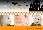 halloween photo cards - Haunted House
