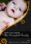 halloween photo cards - Pumpkin Patch