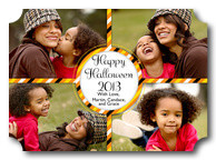 halloween cards - Trick or Treat - Photo Halloween Cards