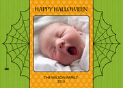 halloween photo cards - Halloween Photo Cards - Spiderweb