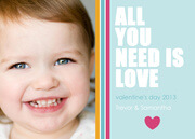 Pitter Patter - Valentine Photo Cards
