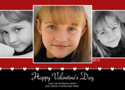 Blooming Love Valentine Photo Cards - Valentine Photo Cards
