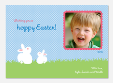 Easter Cards - Marshmallow Bunny
