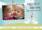 Rabbit Ears -  Easter Cards