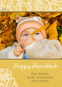 Hanukkah photo cards - Warmglow