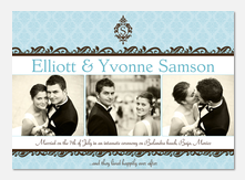 Baroque Wedding Announcements - Wedding Announcements